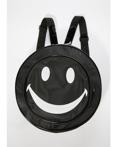Onyx Happy To Be Here Circle Backpack