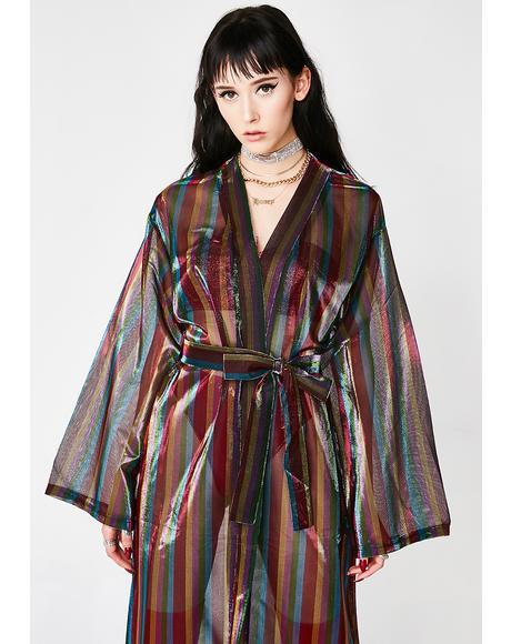 The Wizard's Mistress Sheer Kimono