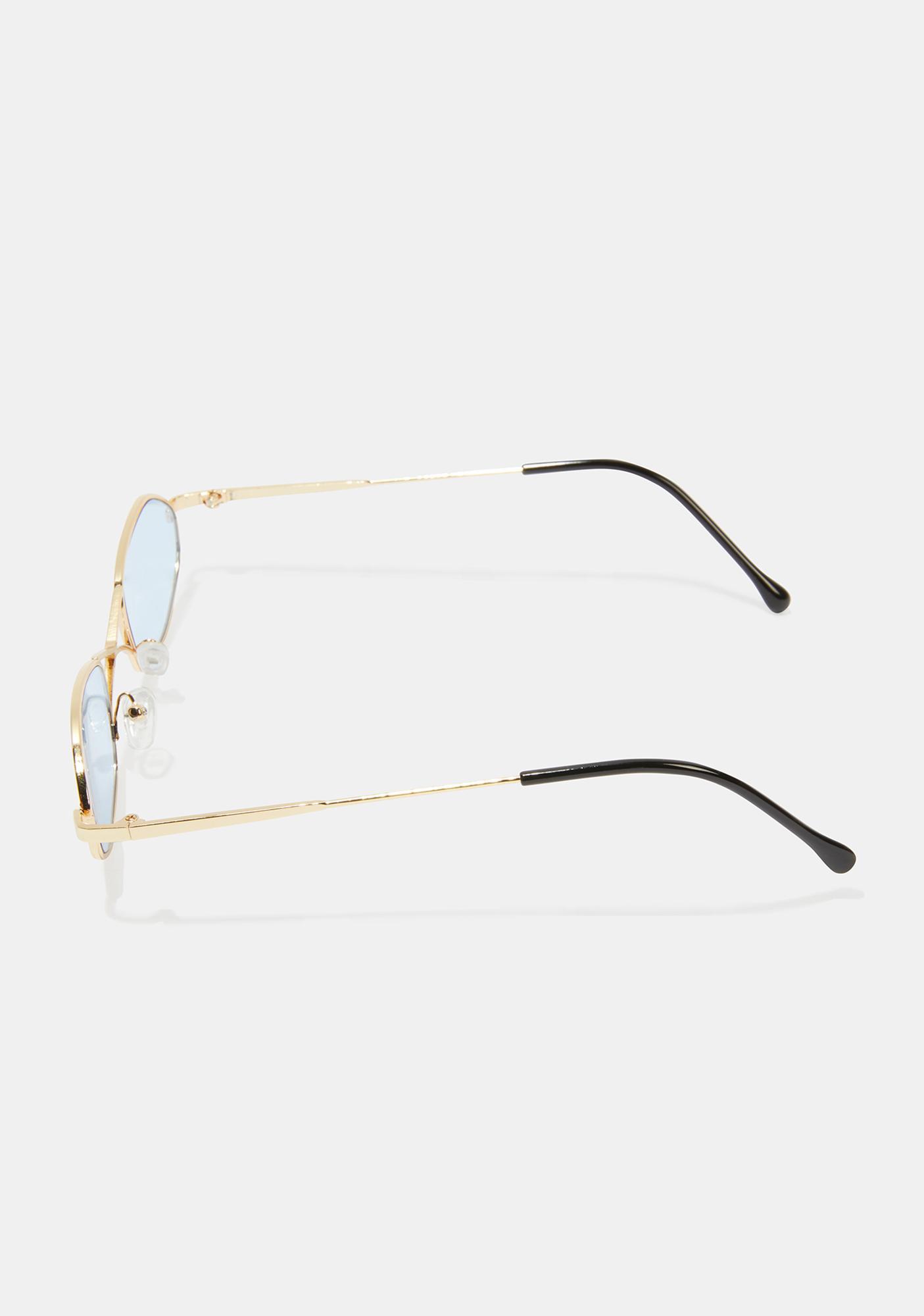 Berry So Secret Sunglasses