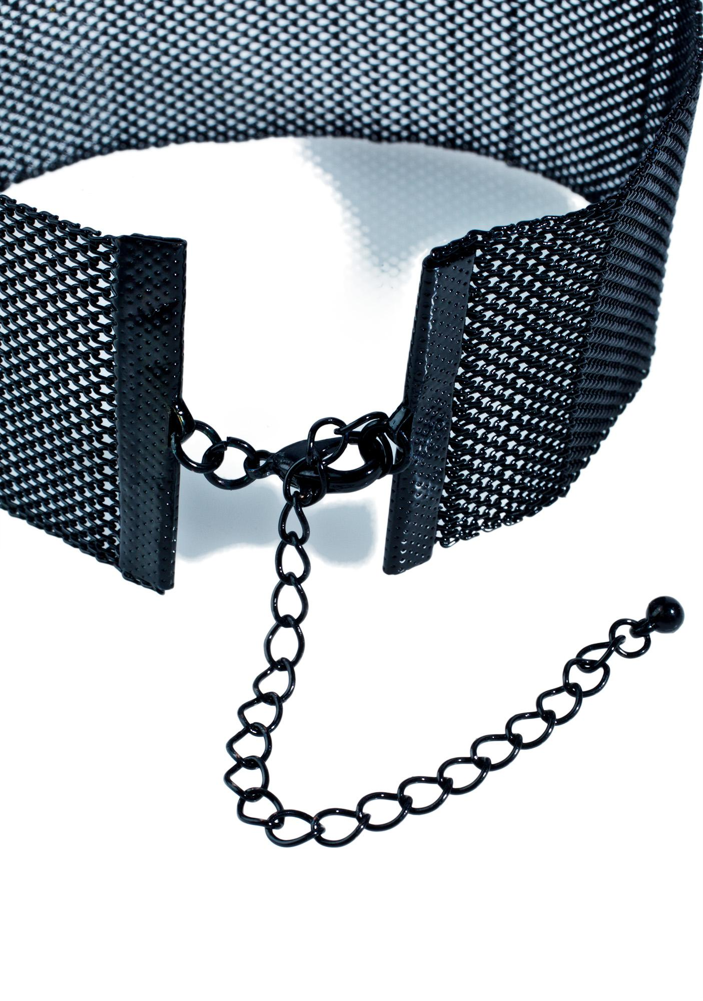 Hot Mesh Choker Set