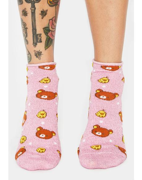 Cuddly Bear Rilakkuma Socks