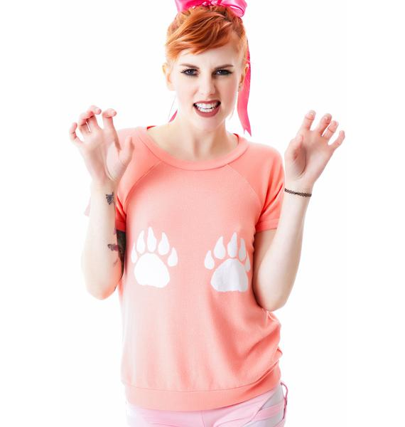 Wildfox Couture Paws Camden Top