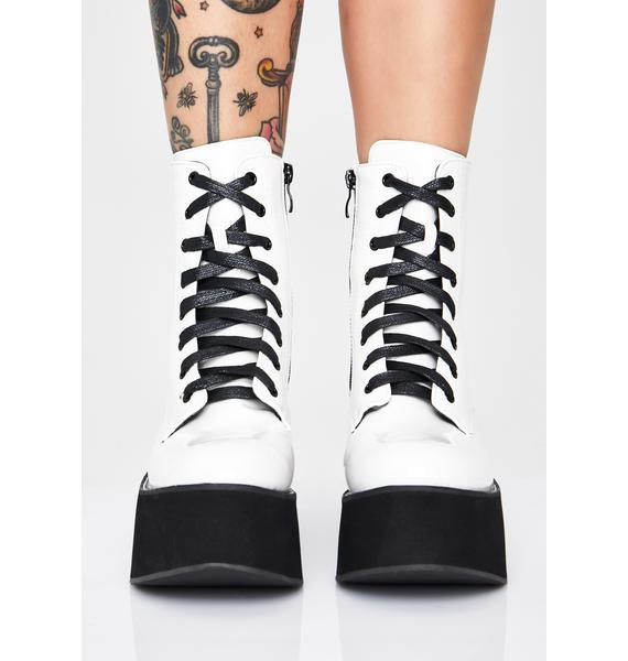 Koi Footwear Frosted Arkon Ankle Boots