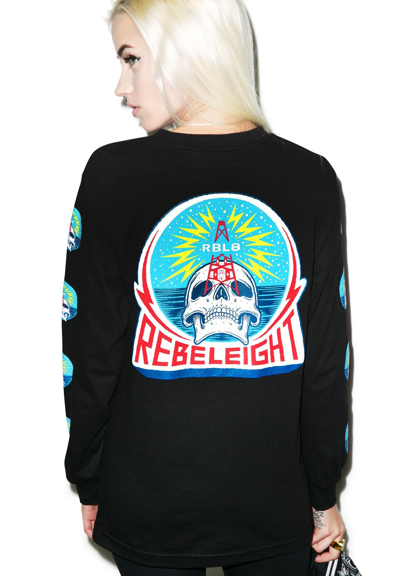 Rebel8 Rebel Transmissions Long Sleeve Tee