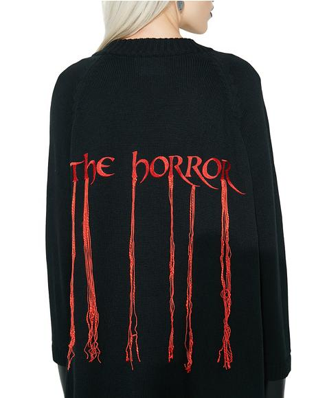 The Horror Cardigan