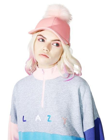 Panel Zip Sweatshirt