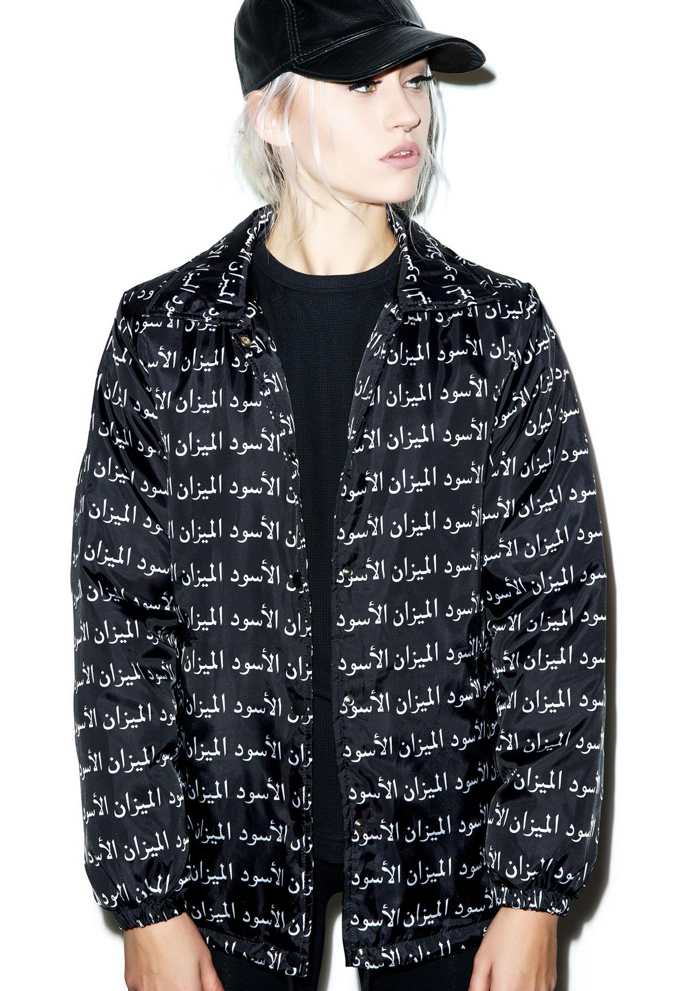 Black Scale Scale of Black Coaches Jacket