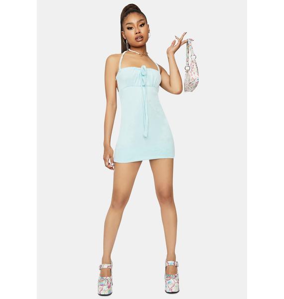 Aqua Bet On Me Bodycon Dress