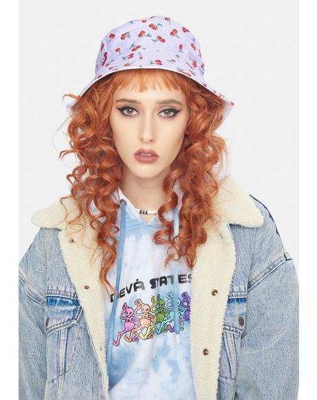 Lilac Not So Tart Bucket Hat