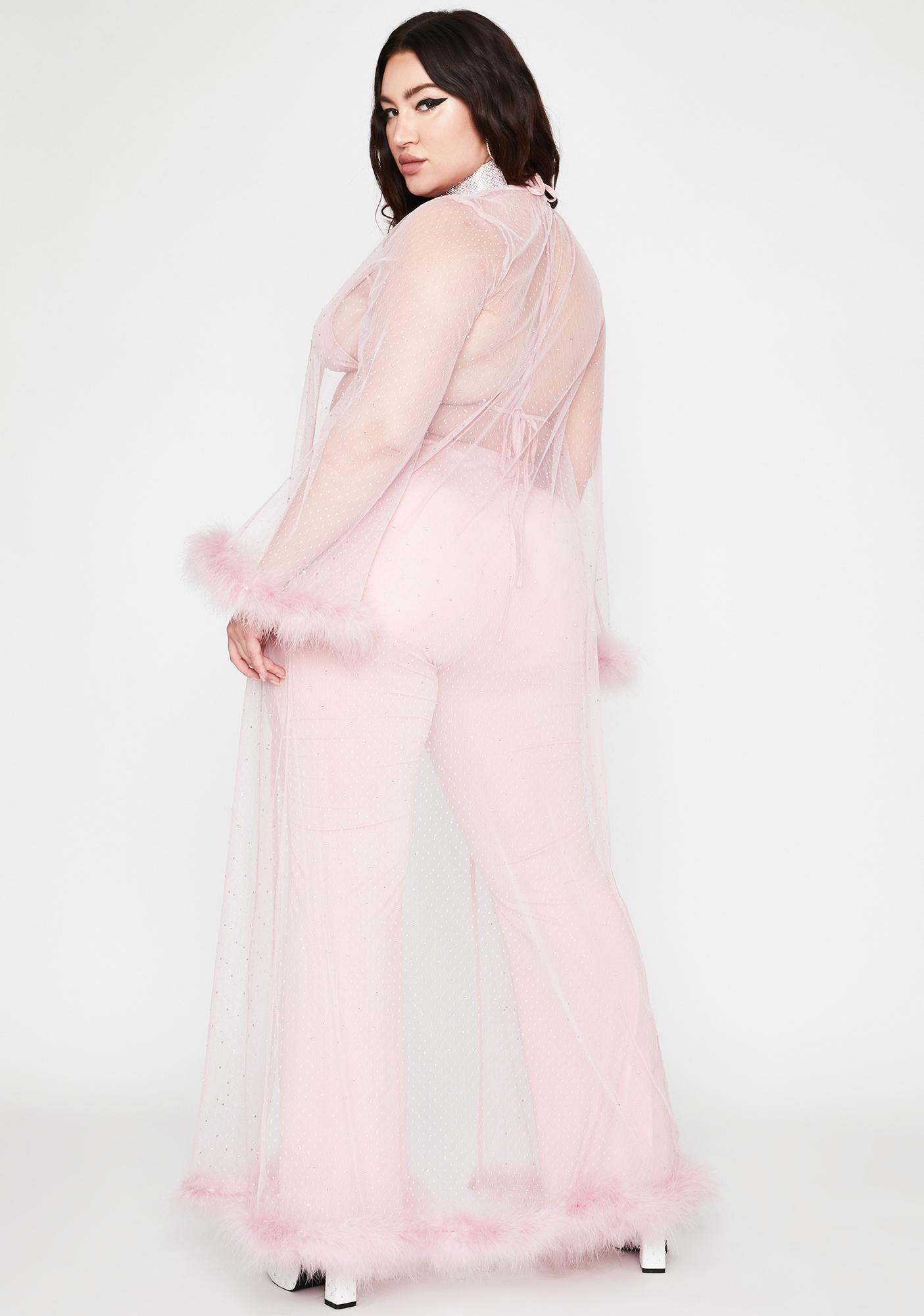 Mauve Lil Lady Of Deluxxx Pant Set
