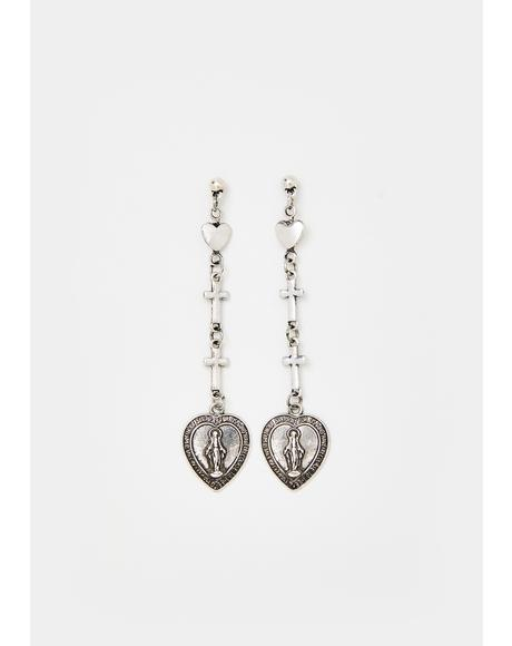 Holy Lovin' Drop Earrings