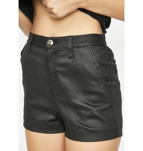 In The Know High Waist Shorts