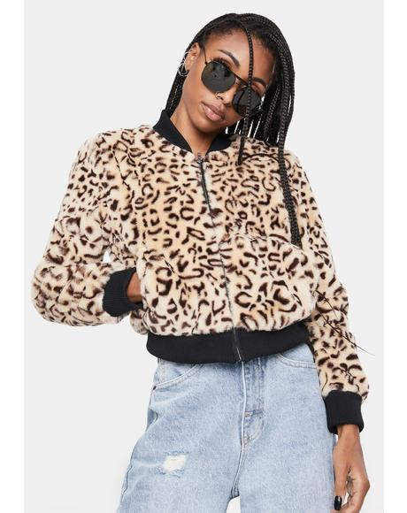 Meow Factor Faux Fur Jacket