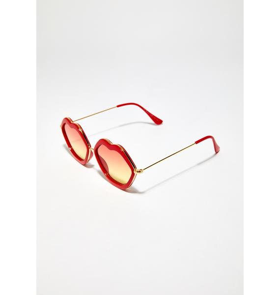 Hot Lips Sunglasses