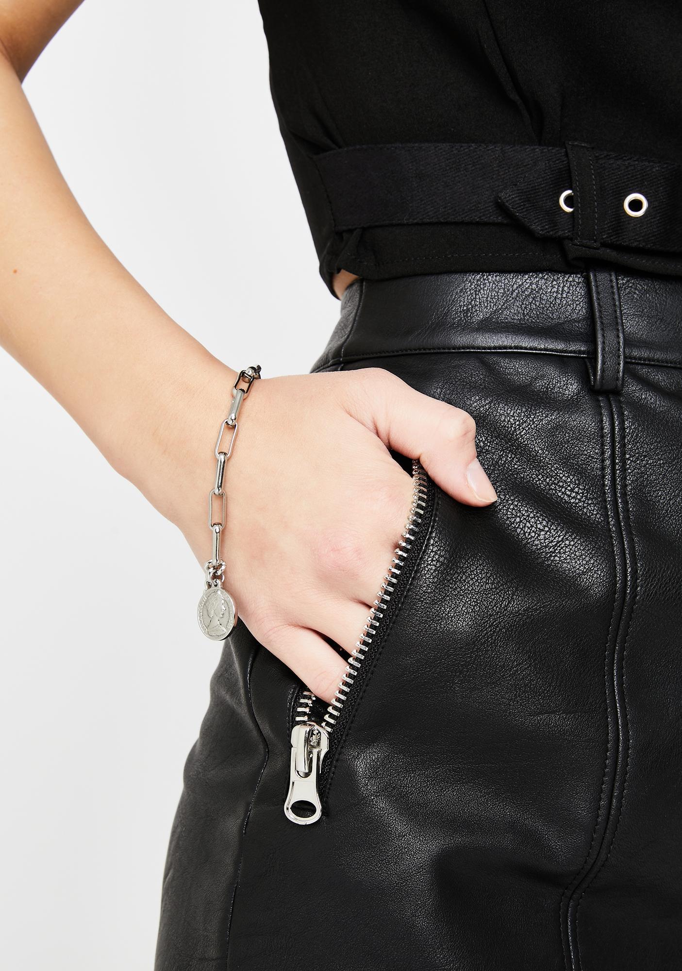 Get That Coin Chain Bracelet