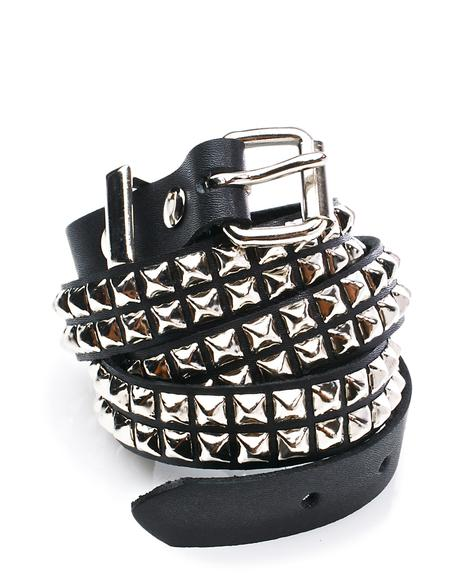 Wanna Riot Studded Belt