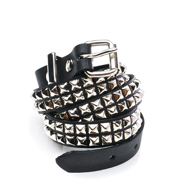 Wanna Riot Studded Belt