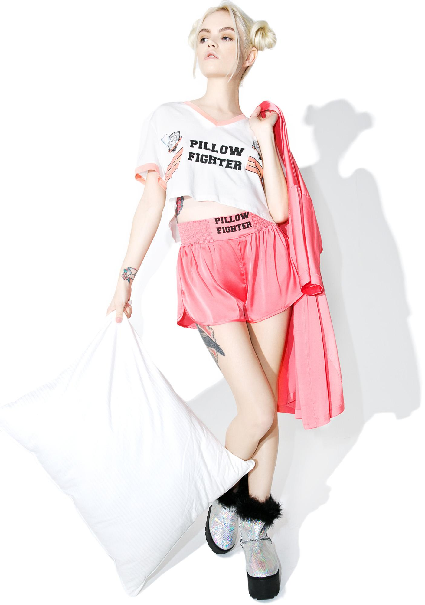 Mink Pink Pillow Fighter Shorts