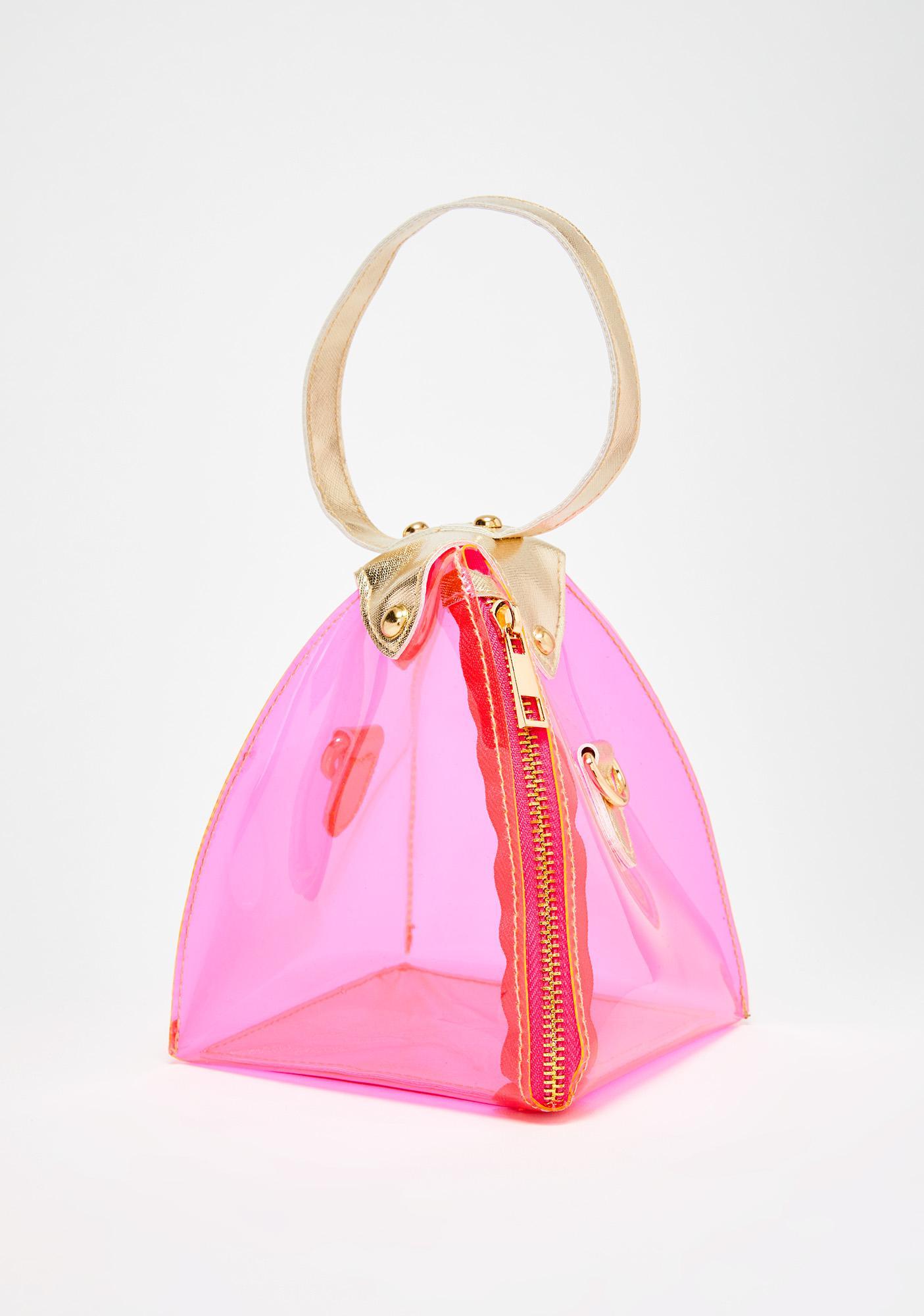 Sweet Technicolor Flavor Clear Bag