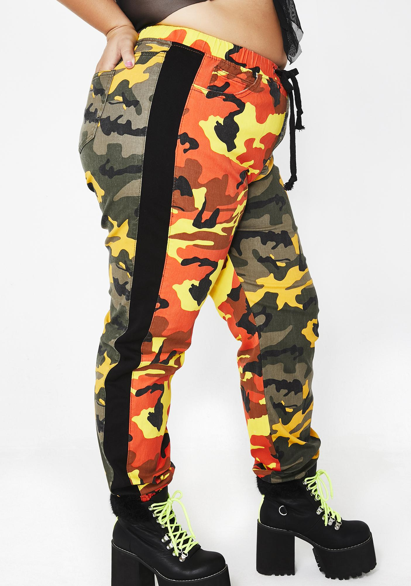 Pants Clothing, Shoes & Accessories Alert Juicy Camoflauge Pants Size Medium