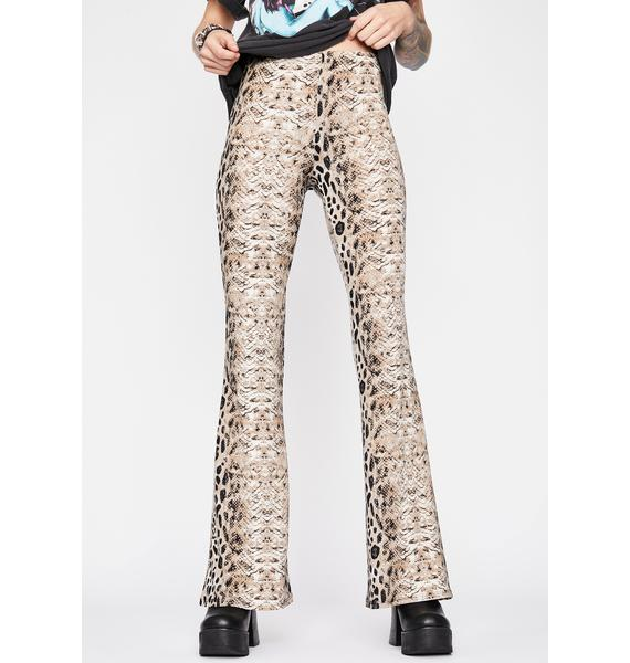 Savage Rodeo High Waisted Flares