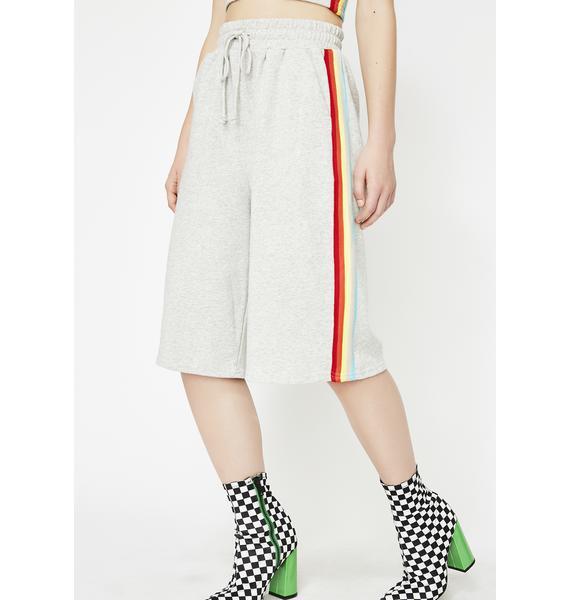 Piece Of Werk Rainbow Shorts