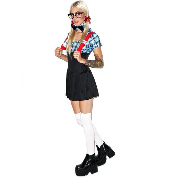 Seductive Smarty Costume Set
