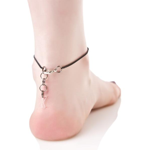 Take A Bow Anklet