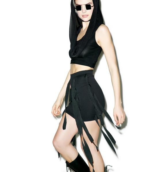 Widow Straps Of Mercy Skirt