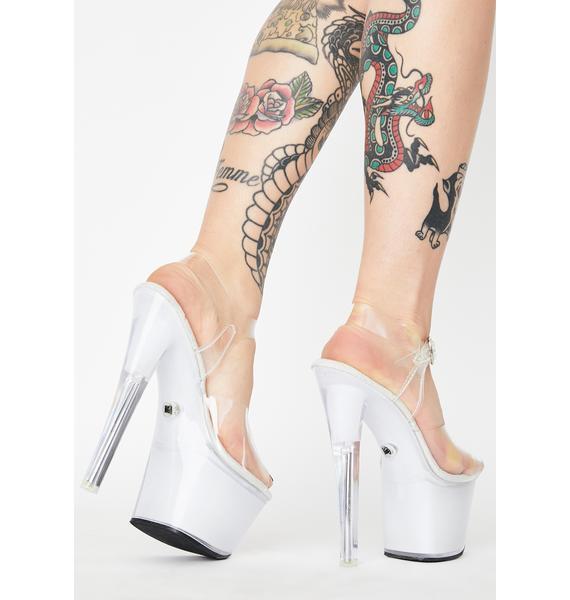 Pleaser Too Lit Light Up Platform Heels