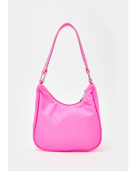Pretty Financial Burden Rhinestone Handbag