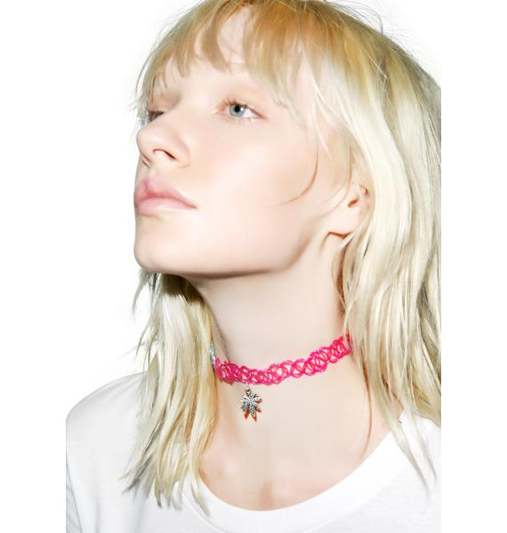 420 Friendly Tattoo Choker