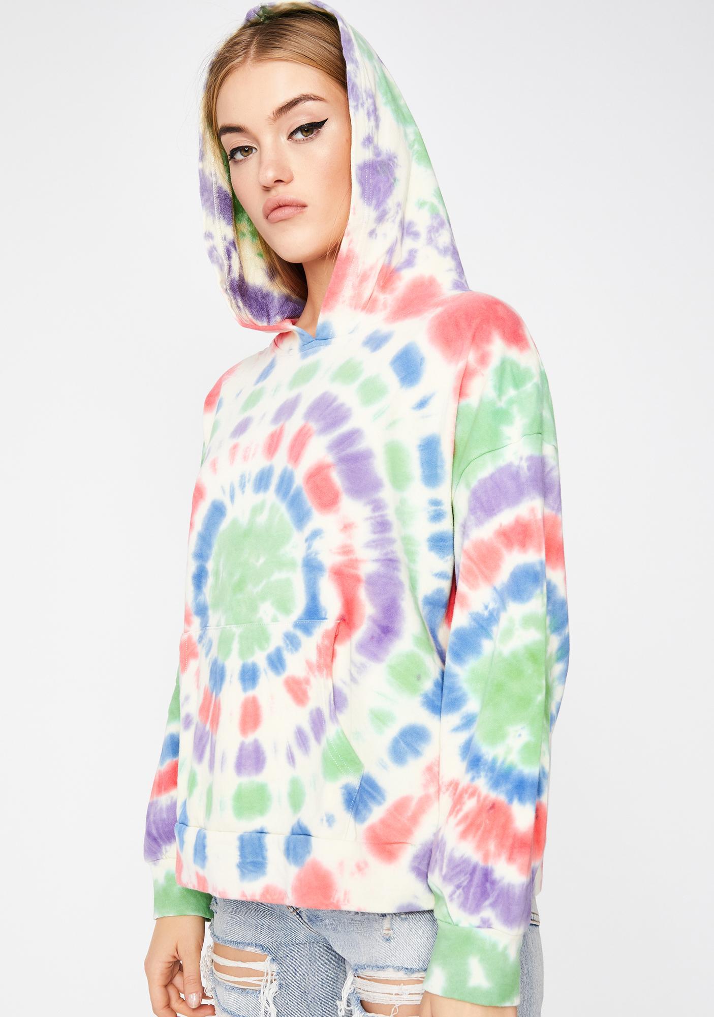 Viral Spiral Tie Dye Hoodie