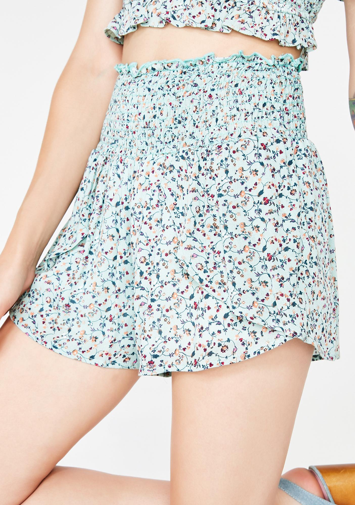 Pretty Please Smocked Shorts