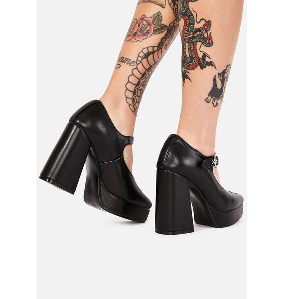 Lamoda Growing Up Platform Heels