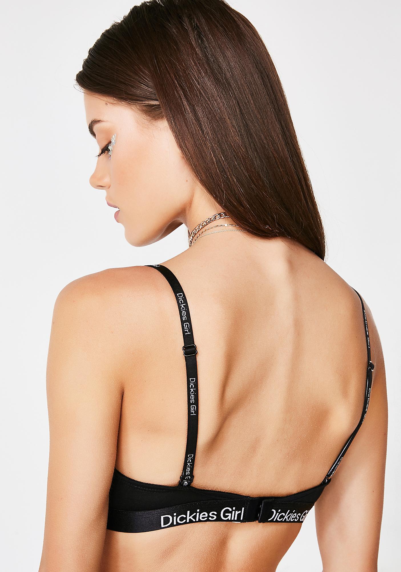 Dickies Girl Wicked Triangle Bra N Bikini Set
