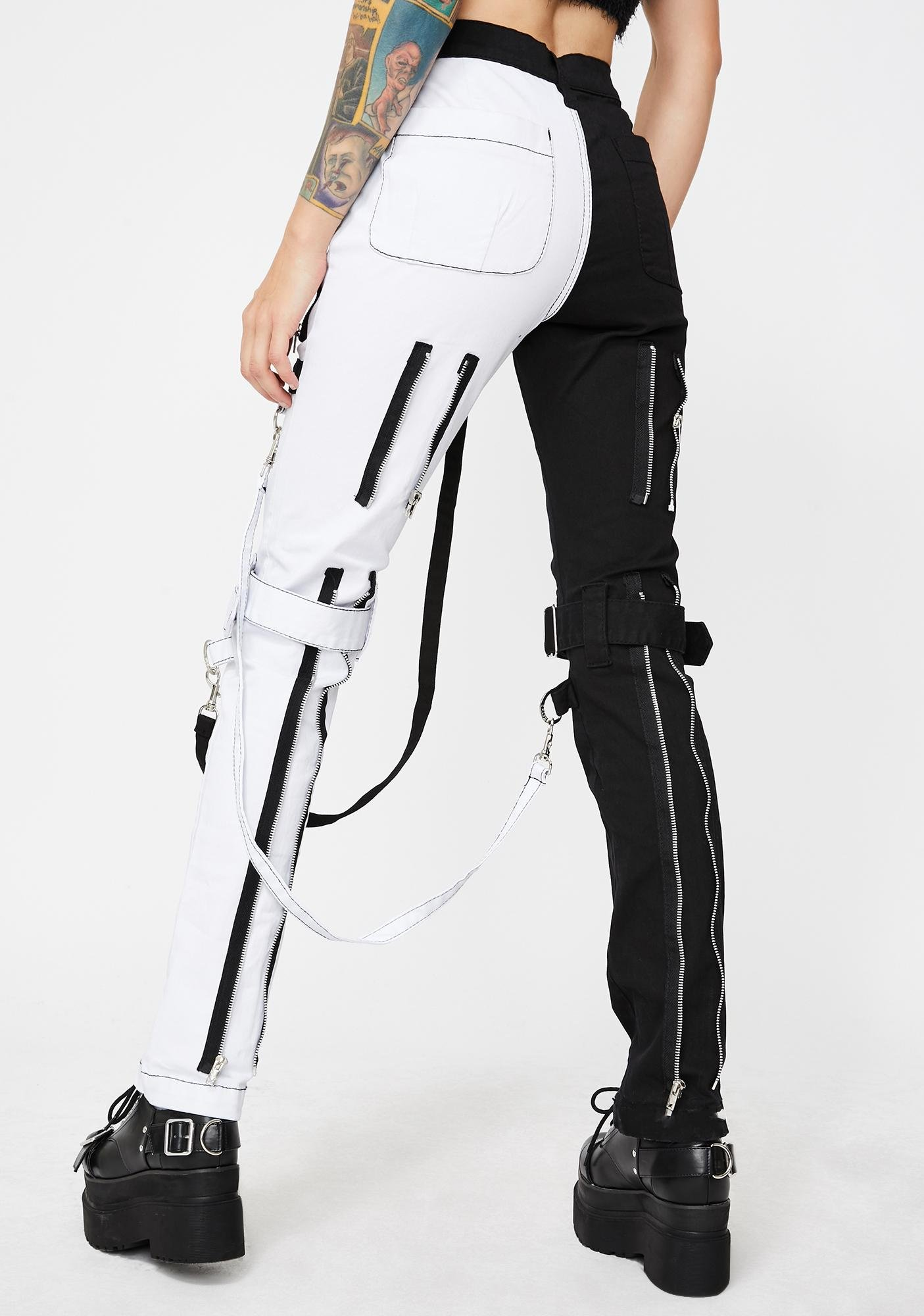 Tripp NYC Split Leg Bondage Pants