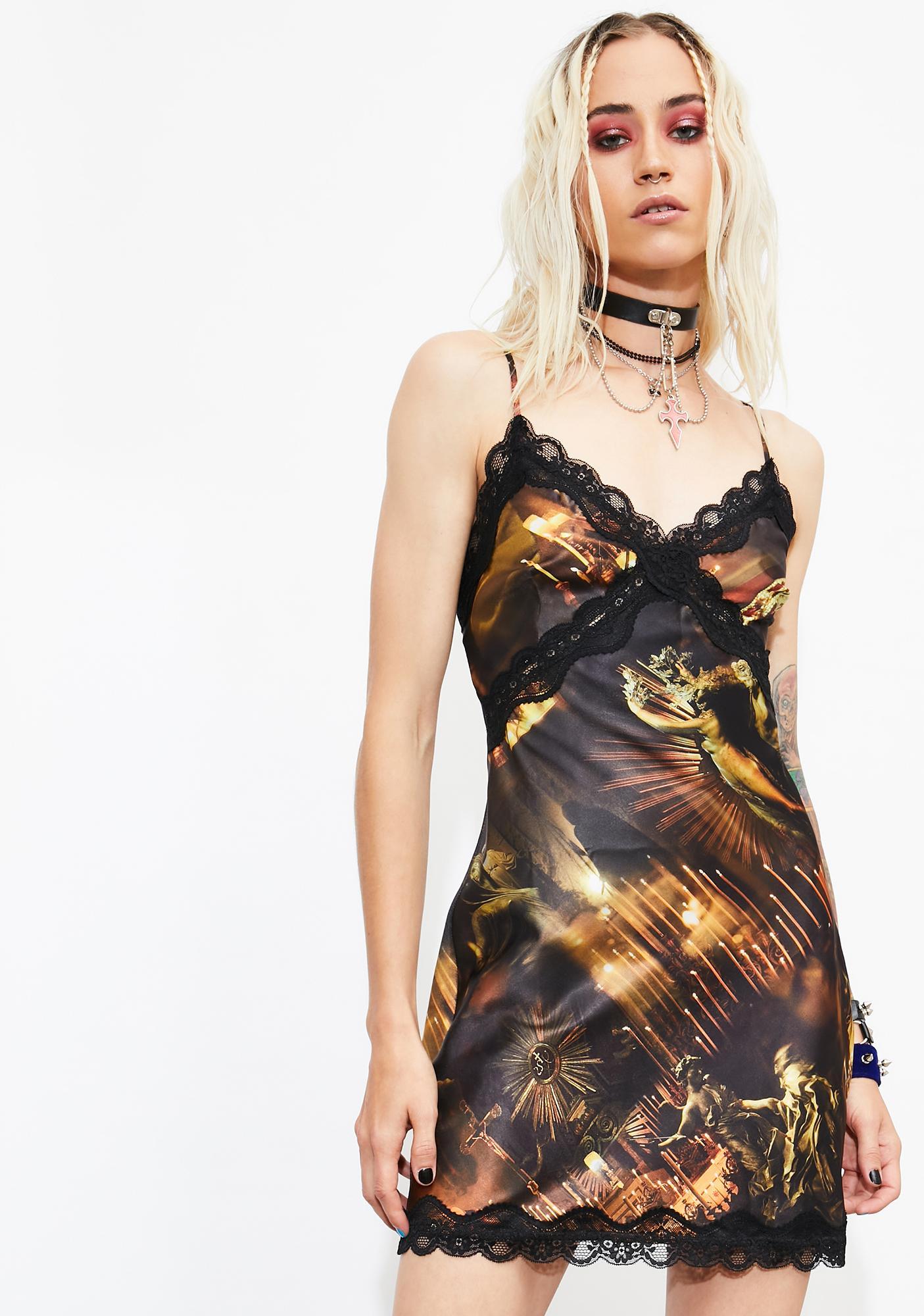 Current Mood Evil Underworld Slip Dress