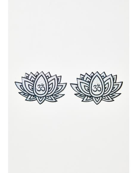 Ohm Lotus Flower Pasties