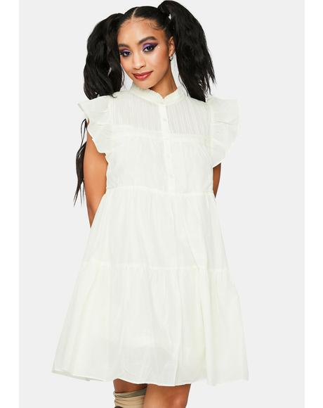 Sweetest Thing Ruffle Mini Dress