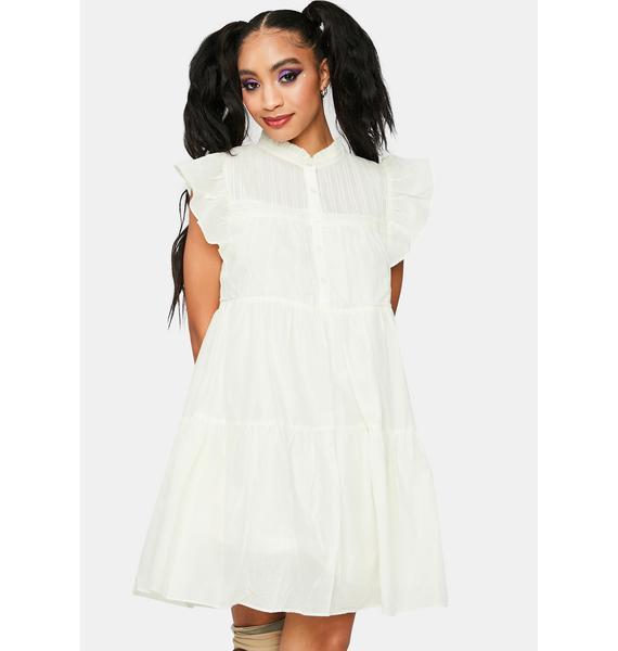 Sweetest Thing Ruffle Mini Dress