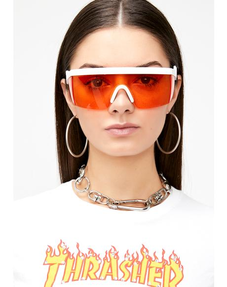 God Of Thunder Shield Sunglasses