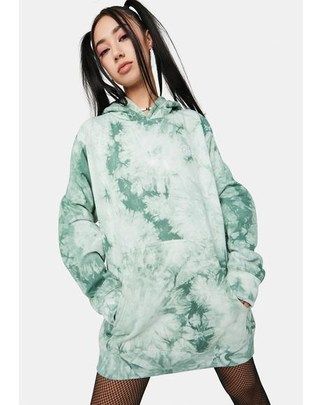 Green Tea Everyday Tie Dye Hoodie