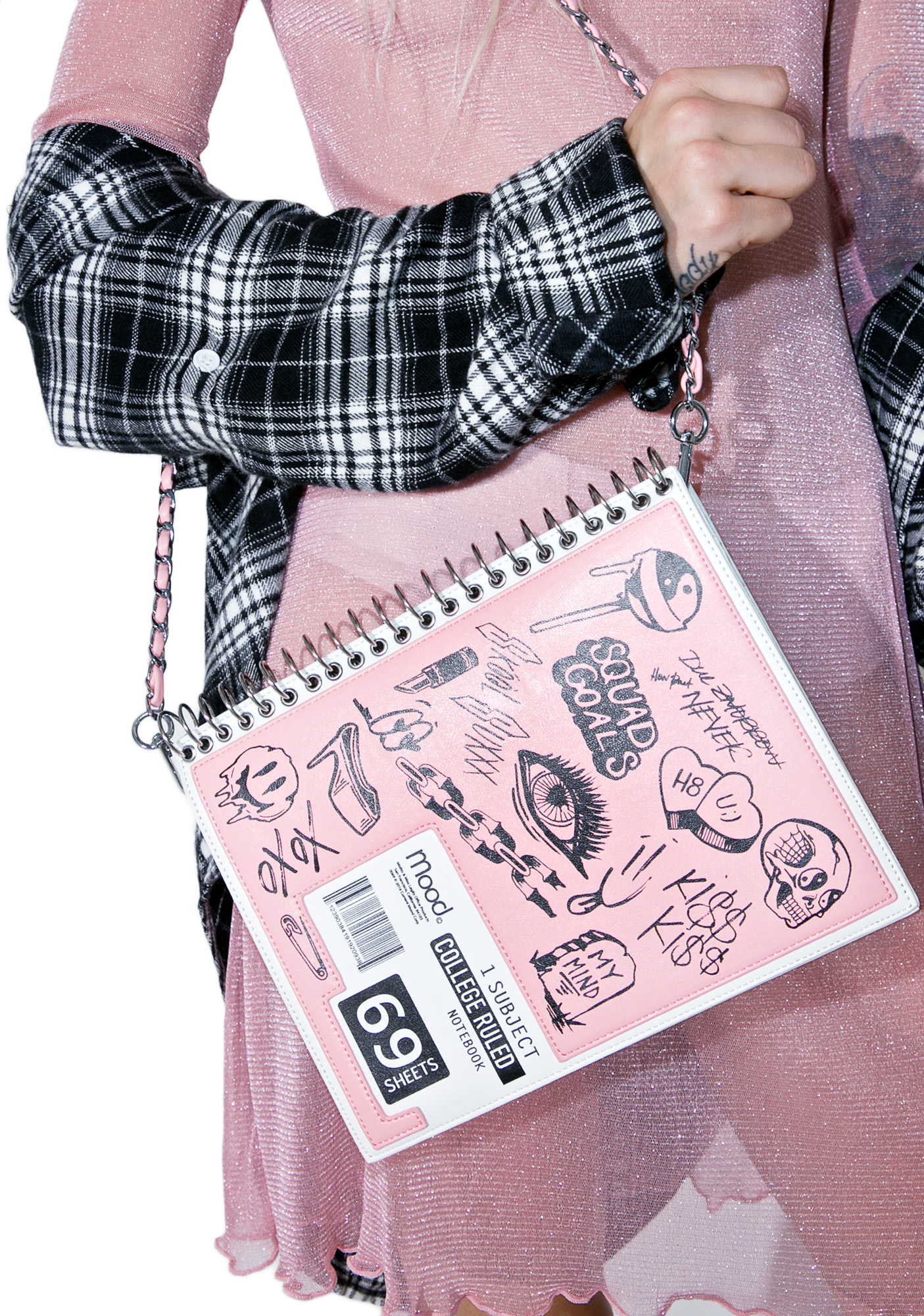 Current Mood Doodle Notebook Bag