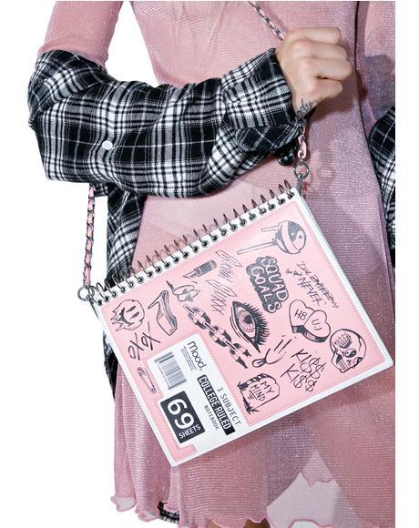 Doodle Notebook Bag
