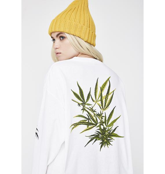 HUF Tropical Plants Long Sleeve Tee