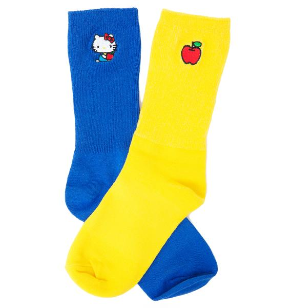 Lazy Oaf Hello Kitty Sock Pack #2
