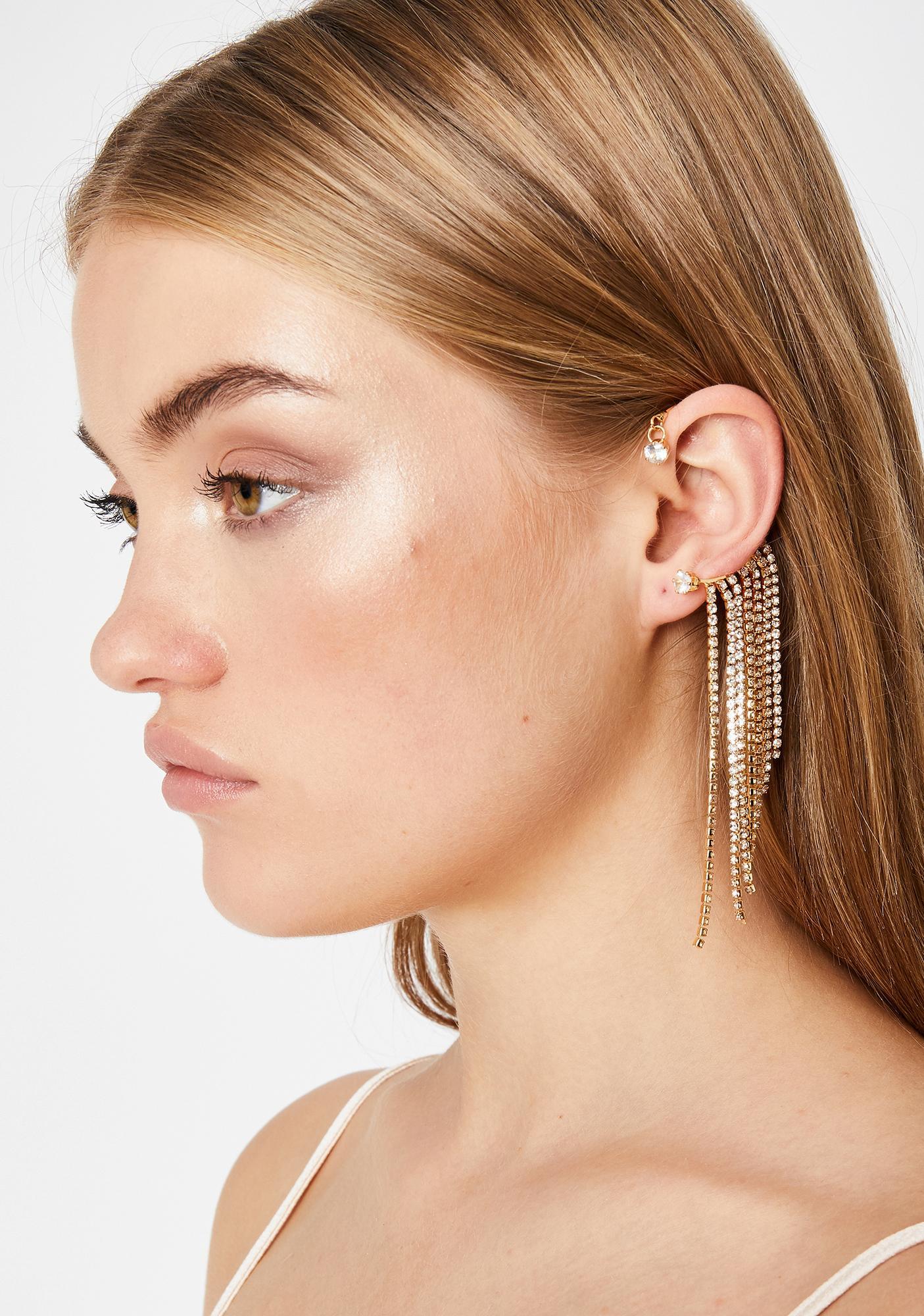 Diamonds For Days Rhinestone Cuff