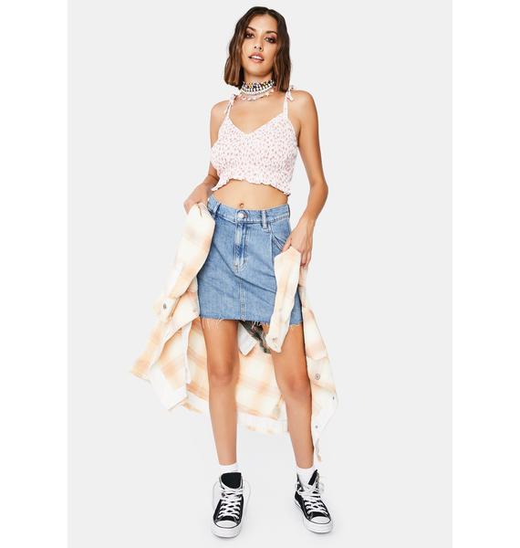 Free People Cosmico Flirt Skirt
