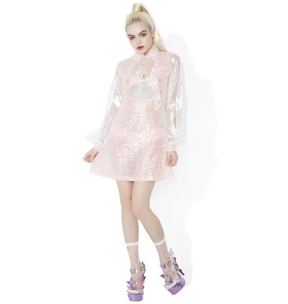 Sugar Thrillz Lovin' Spoonful Sequin Mini Dress